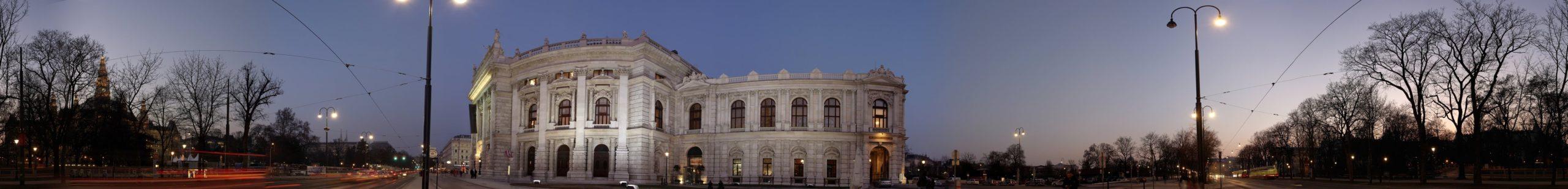 Wien Panorama Burgtheater