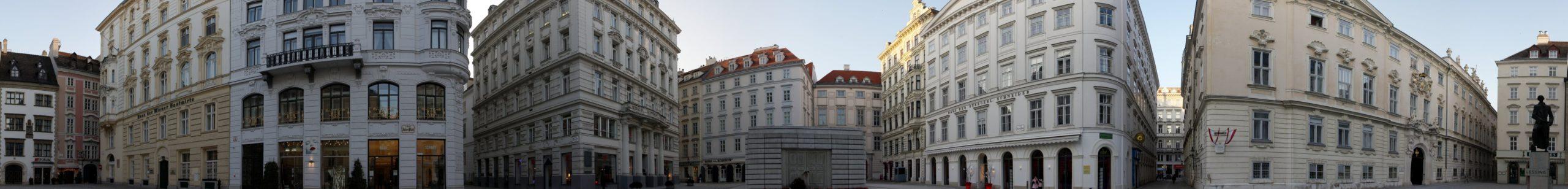 Wien Panorama Judenplatz