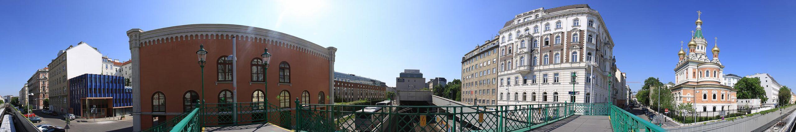 Wien Panorama Russische Kirche