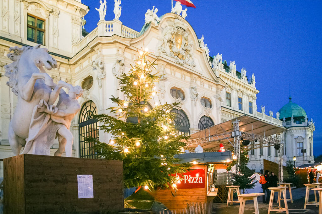Weihnachtsmarkt Belvedere