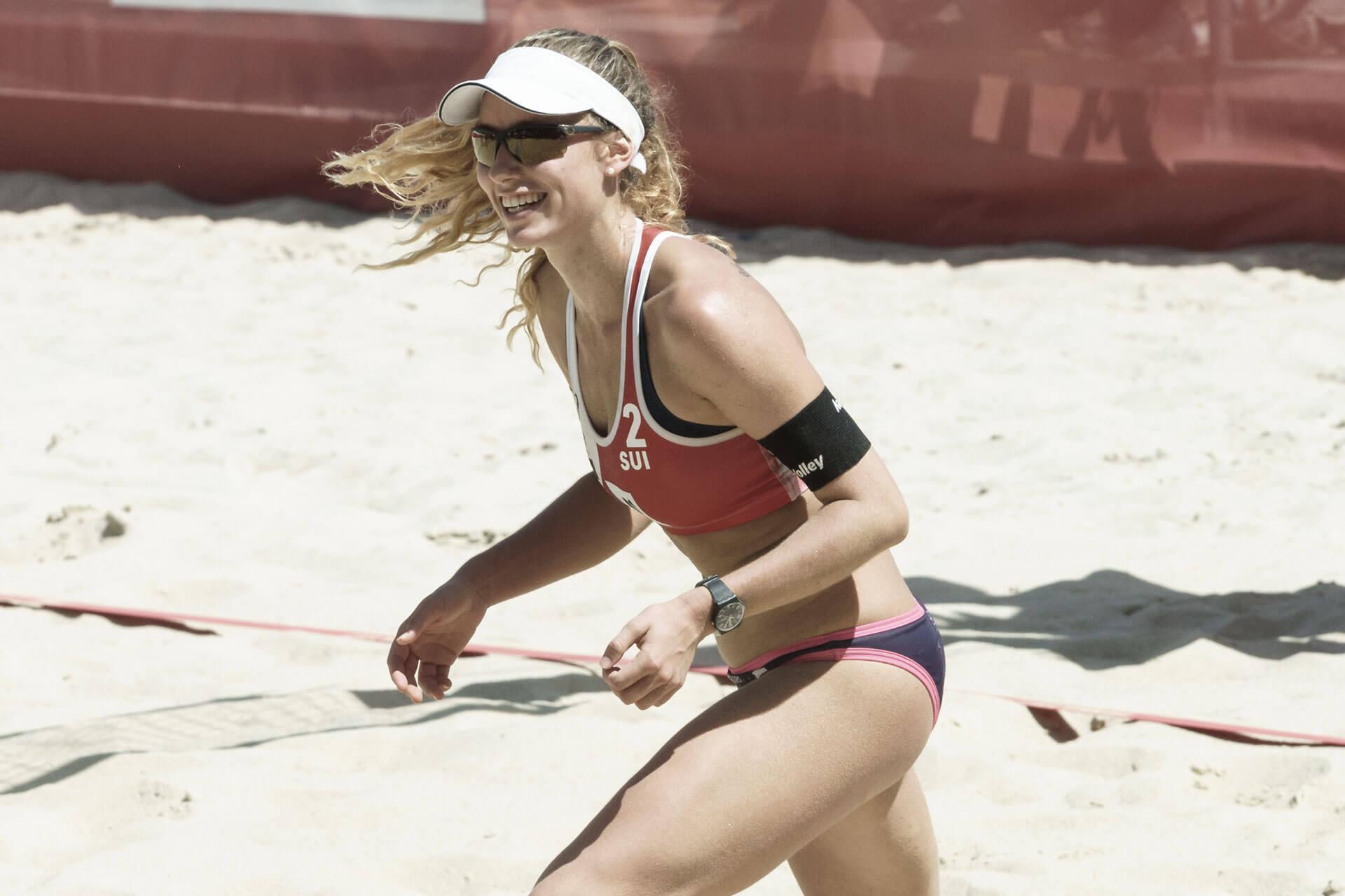 Beachvolleyball WM Nina Betschart