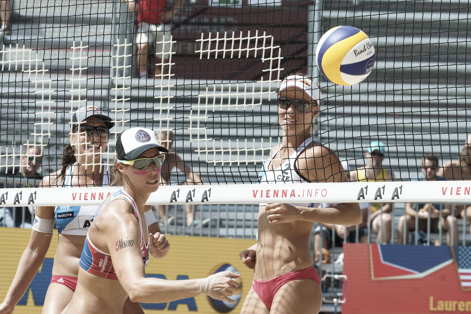 Beachvolleyball WM Markéta Sluková