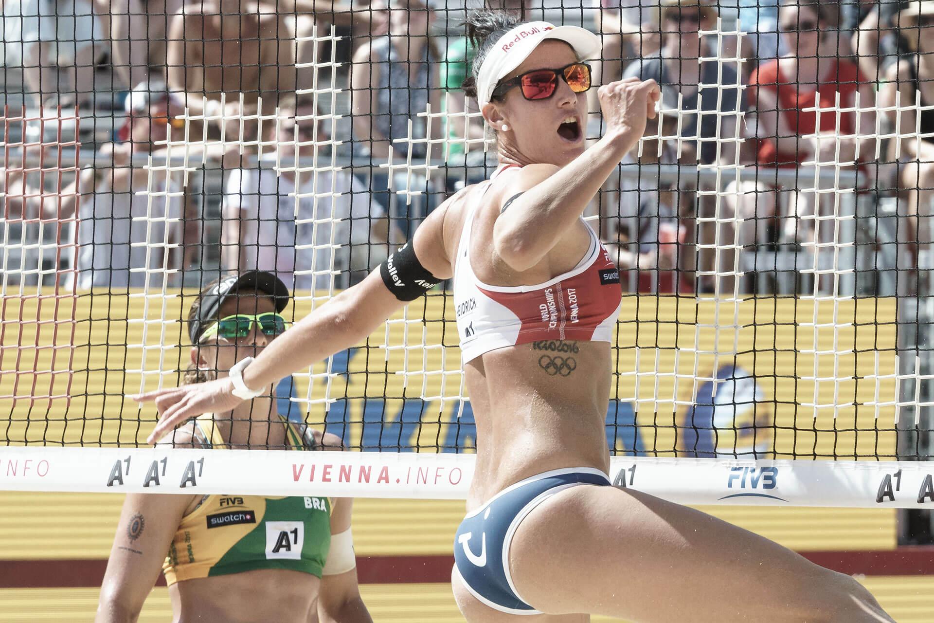 Beachvolleyball WM Betschart/Hüberli