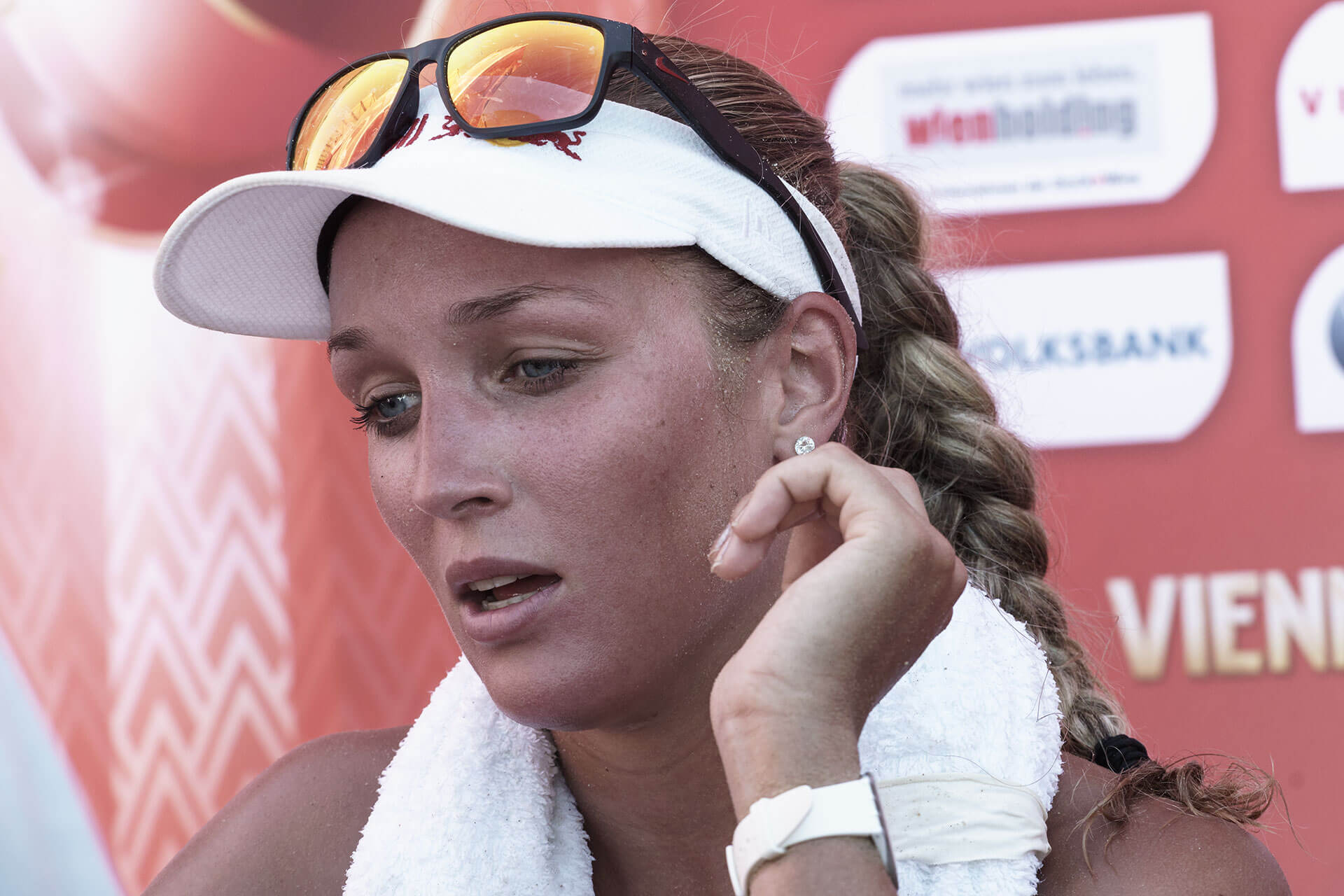 Beachvolleyball WM  Anouk Vergé-Dépré