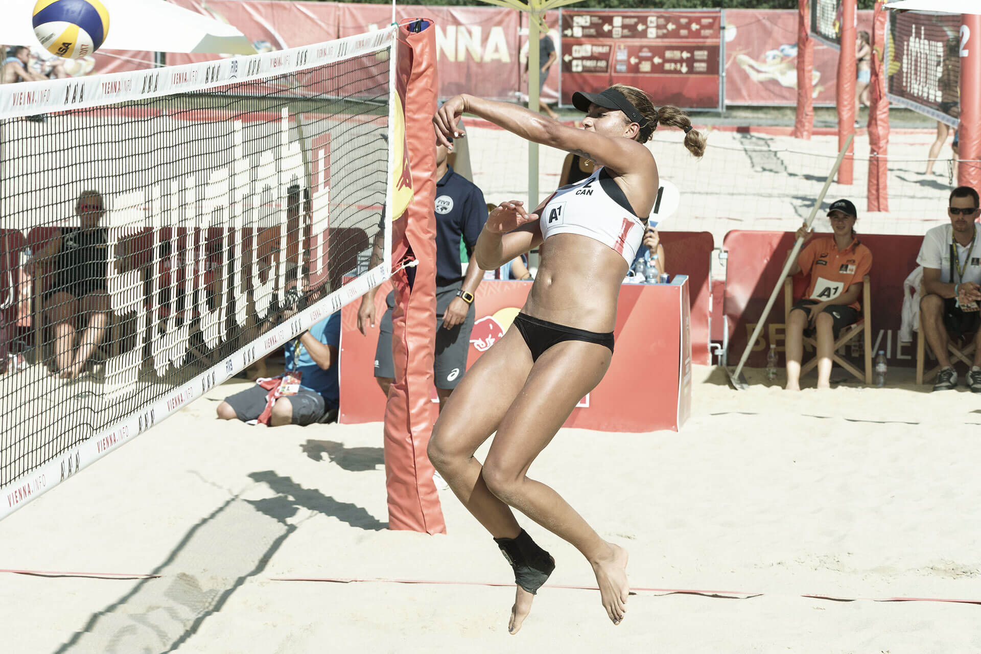 Beachvolleyball WM Bansley/Wilkerson