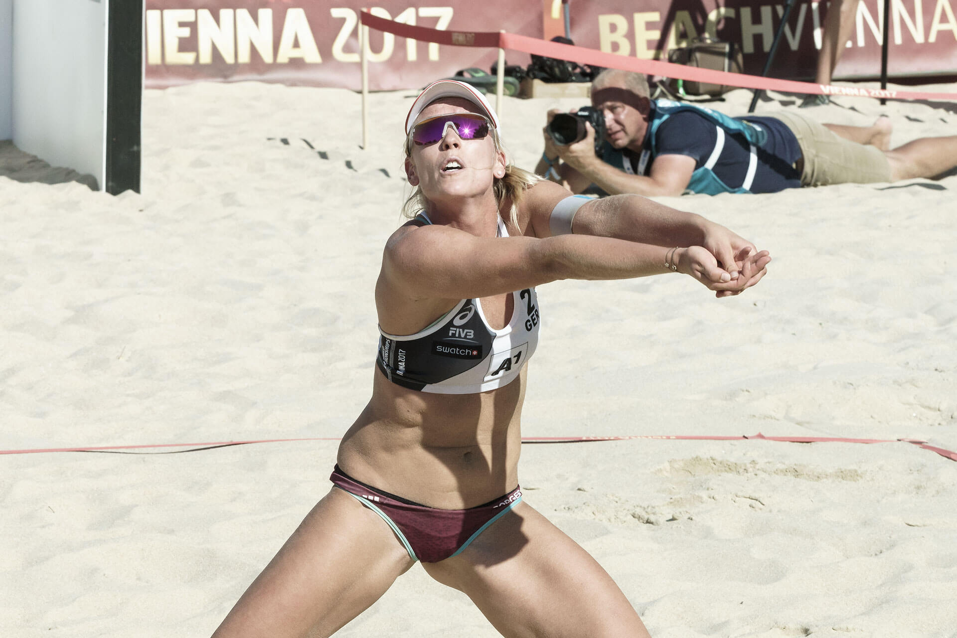 Beachvolleyball WM Borger/Kozuch