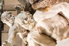 Hofburgbrunnen Macht zur See