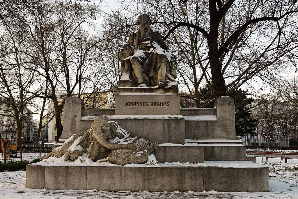 Johannes Brahms Denkmal