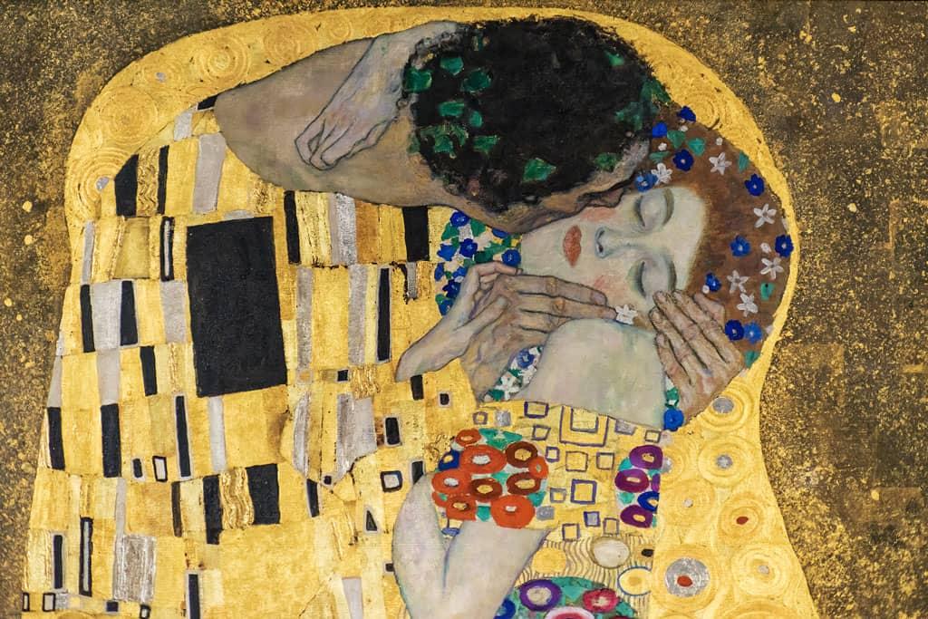 Klimt Der Kuss