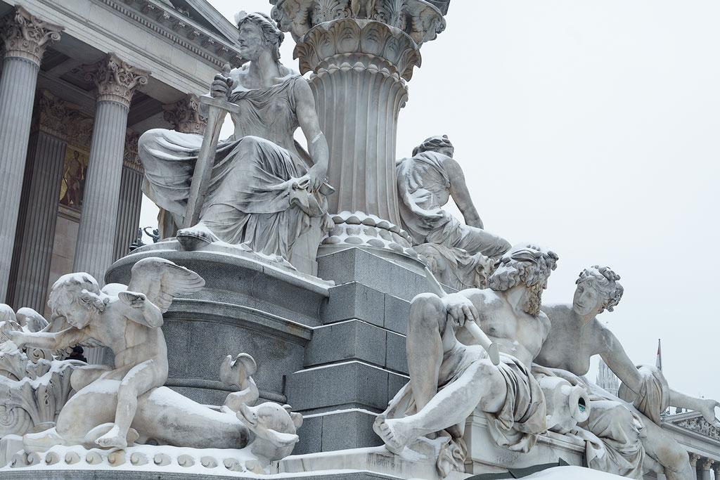 Pallas Athene Brunnen