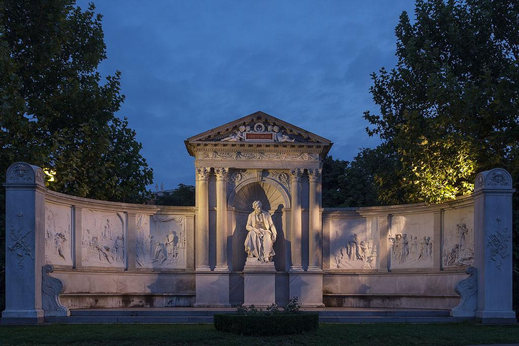 Grillparzer Denkmal